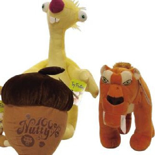 Ice Age Jumbo Plush Mix - 42 ct