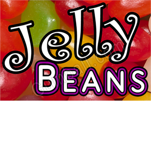Jelly Beans Vending Label