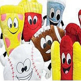Premium Sports Non-Licensed Jumbo Plush Mix - 63 ct