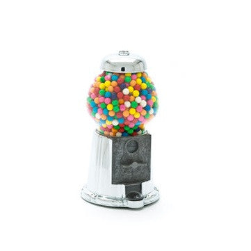 Junior size Chrome / SilverRetro Candy & Gumball Machine