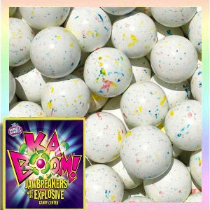 838b5999a10 Kaboom Speckled Jawbreakers with Candy Center – Gumball.com