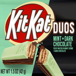 Kit Kat?  Duos Mint + Dark Chocolate Candy Product Image