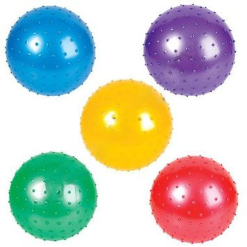 18 inch inflatable Knobby Balls for crane / claw machine