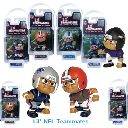 Lil NFL Teammates Figurines 24 ct