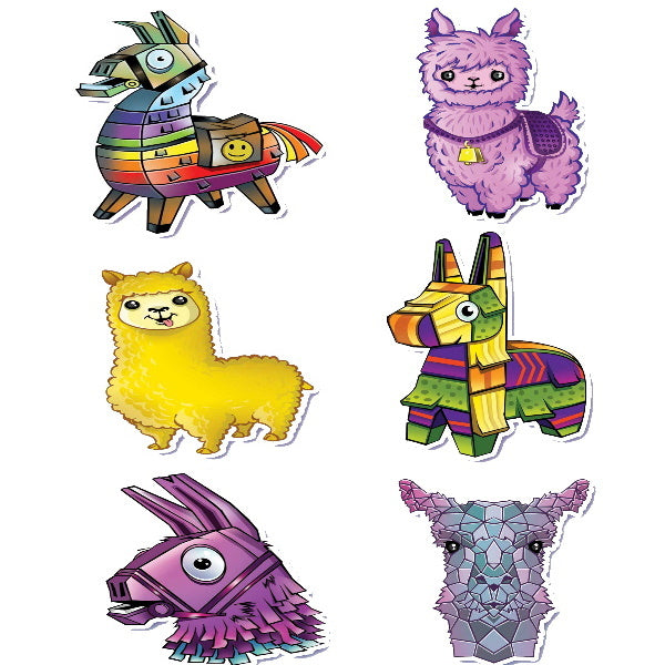 Llama Stickers Product Detail