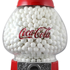 Carousel gumball machine with Coke logo