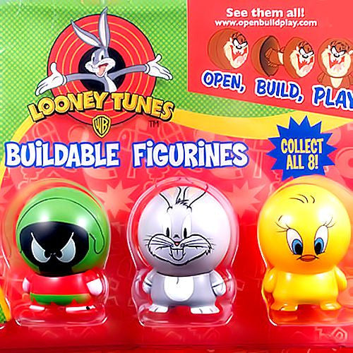 Looney Tunes Buildable Figurines Tomy Gacha 2 Inch Self-Vending Toys