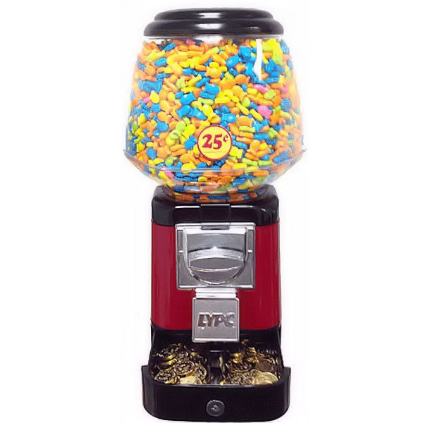 Ultra Classic Gumball Machine by LYPC in color red