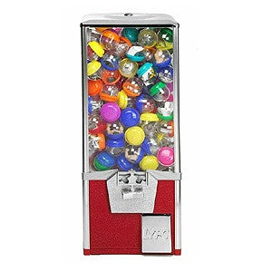 LYPC Big Pro toy capsule vending machine in color red