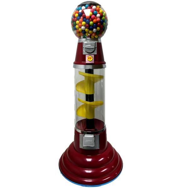 LYPC 4' Junior Spin & Drop Spiral Gumball Machine Product Image