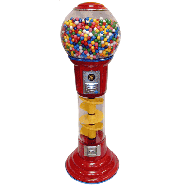 LYPC 5' Spin & Drop Spiral Gumball Machine Product Image