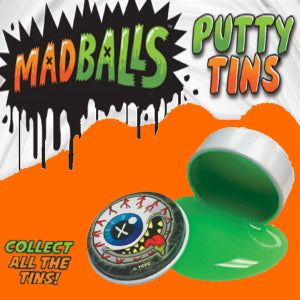 "Madballs Putty Tins 2"" Capsules Product Image"