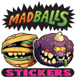 Madballs Vending Stickers
