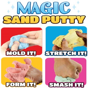 "Magic Sand Putty 2"" Round Toy Capsules Product Image"