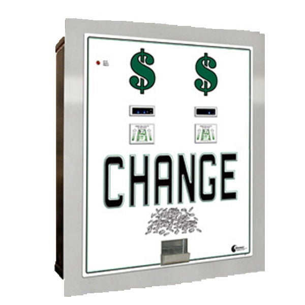 MC640RL-DA Dual Standard Change Machine Front View Product Image