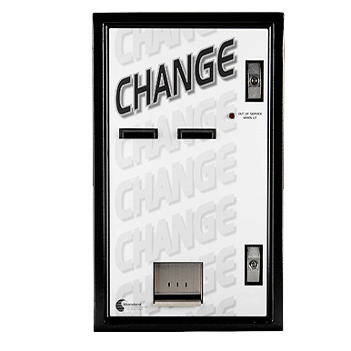 Standard Changemakers MC720-DA dual bill changer front view