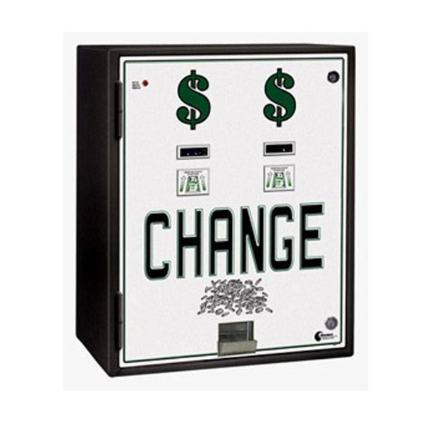 MC830-DA Dual Standard Change Machine Front View Product Image