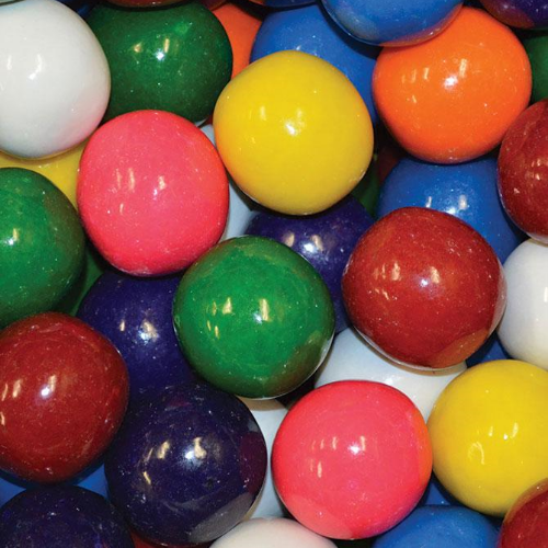 Mega Mouth Unfilled Gumballs Product Detail