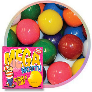 Mega Mouth Unfilled Gumballs Product Image