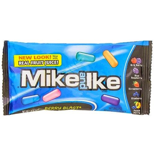 Bag of Mike and Ike Berry Blast candy