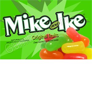 Mike & Ike Vending Label