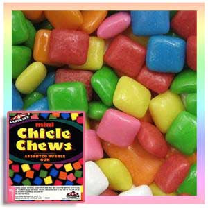 Mini Chicle Chews