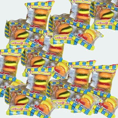 Burger Gummies Mini