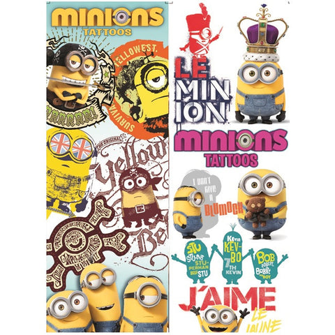 Minions Movie Tattoos