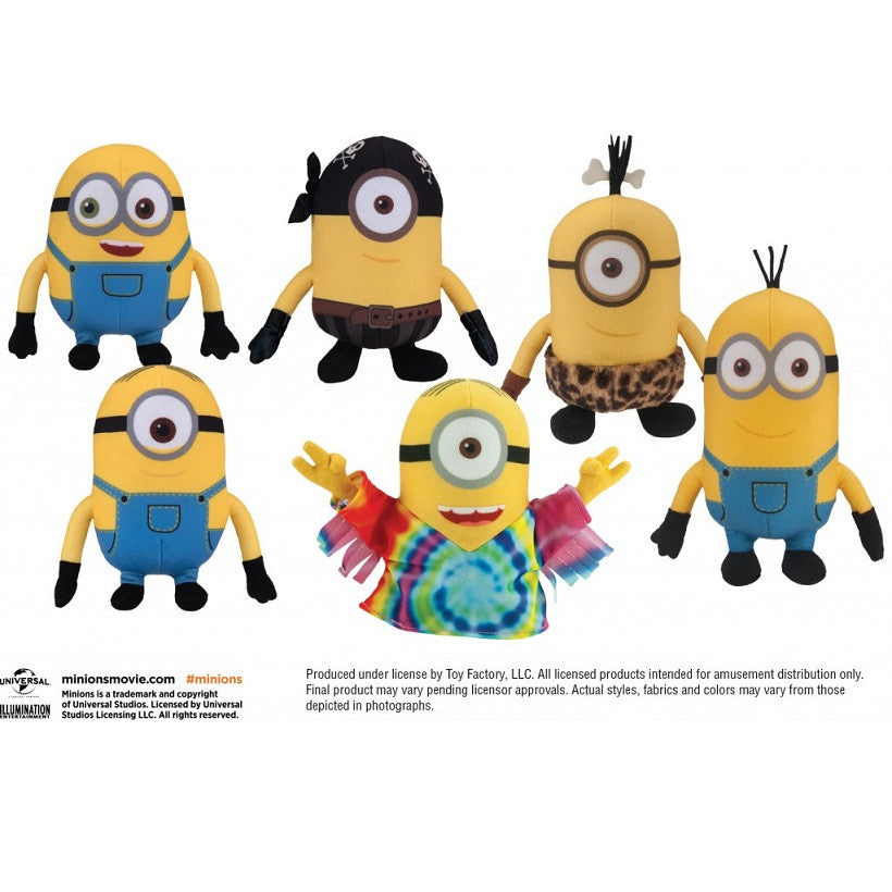 Minions Movie 10% Plush Mix