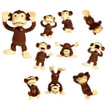 Monkeyin Around Figurines: 100 per bag