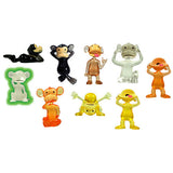 Monkey See Monkey Do Figurines: 100 per bag