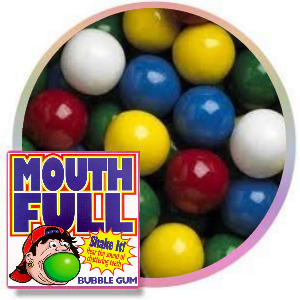 Mouth Full Filled Gumballs Product Image
