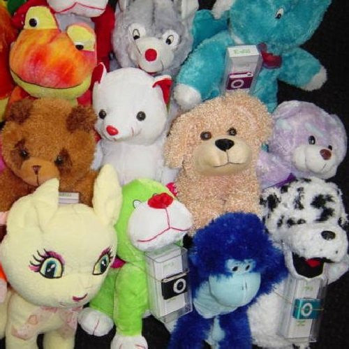 MP3 Jumbo Plush Pack