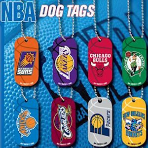 NBA Dog Tags 2 Inch Tomy Compatible