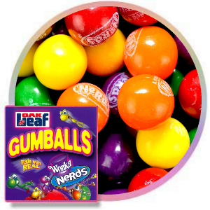 Nerds filled gumballs bulk