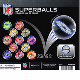 NFL Superballs image of display front side