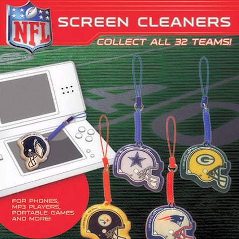 NFL Screen Cleaners 2 Inch Toy Capsules