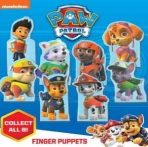 "PAW Patrol Finger Puppets 2"" Capsules Product Image"