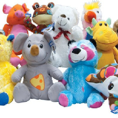 Non-Licensed Premium Jumbo Plush Mix - 75 ct
