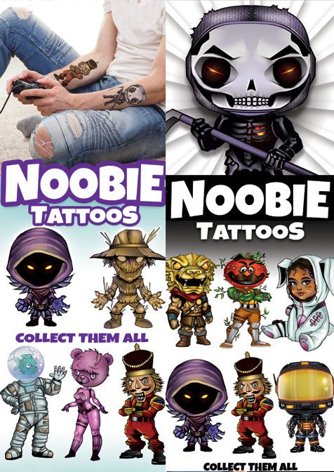 Noobie Tattoos product display