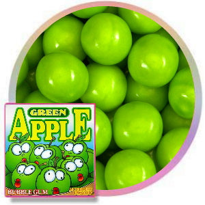 Oak Leaf Green Apple Gumballs Product Image