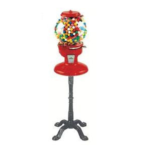 Old Columbia Gumball Machine on Stand