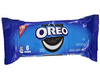Oreo chocolate sandwich cookie front of 2.4 oz pack