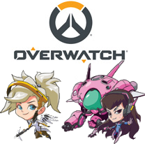 overwatch stickers vending folders characters