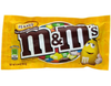m and m mms m&m's peanut chocolate candy front of 1.74 oz bag