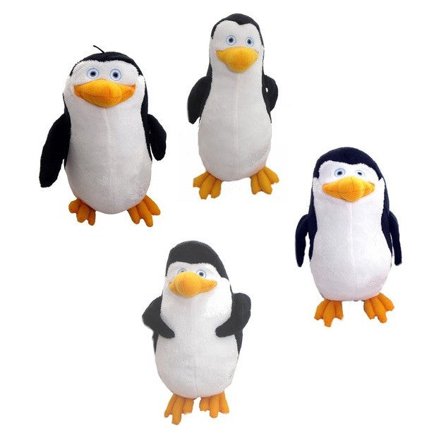 Penguins of Madagascar plush toys