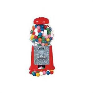 Petite Carousel Gumball Machine with Gumballs