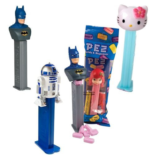 PEZ Favorites dispensers and display 144 ct