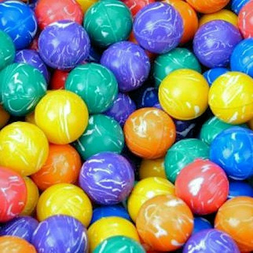 27 mm Plain Colored Squiggle Super Balls