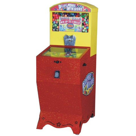 Play More Win More Gumball Machine